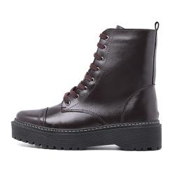 Bota Coturno Militar Motociclista Feminina Top Fra... - Top Franca Shoes | Calçados confortáveis em Couro