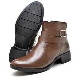 Bota Country Montaria Feminina Top Franca Shoes Ca... - Top Franca Shoes | Calçados confortáveis em Couro