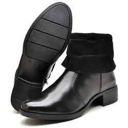 Bota Country Montaria Feminina Top Franca Shoes Pr... - Top Franca Shoes | Calçados confortáveis em Couro