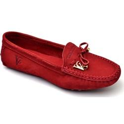 Mocassim Drive Sapatilha Feminina Via Confort Cour... - Diconfort Calçados | Calçados confortáveis e anatômicos