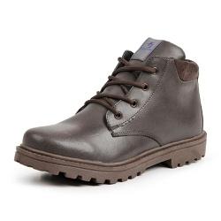 Bota Coturno Casual Masculino Top Franca Shoes Mar... - Top Franca Shoes | Calçados confortáveis em Couro