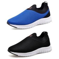 Kit 2 Tênis Masculino Esporte Fit Snap Shoes Preto... - Top Franca Shoes | Calçados confortáveis em Couro