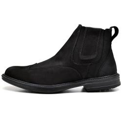 Bota Botina Anatômica Confort Top Franca Shoes Pre... - Top Franca Shoes | Calçados confortáveis em Couro