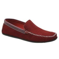 Sapato Mocassim Masculino Bordô Vermelho Torani - Torani Calçados
