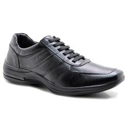 Sapato Casual Masculino Confortável Couro de Carne... - Torani Calçados