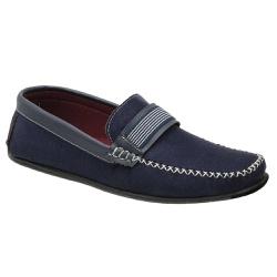 Sapato Mocassim Masculino Azul Torani - Torani Calçados