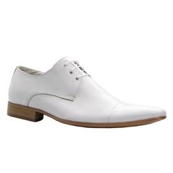 Sapato Social Masculino Couro Legítimo Branco