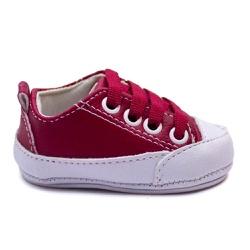 Tênis Vermelho Infantil Bebê - Torani Calçados