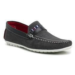 Sapato Mocassim Masculino Cinza Torani