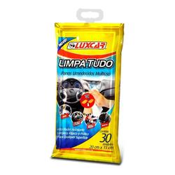 Pano Umedecido Limpa Tudo Multiuso com 30 unidades - Total Latas - A loja online do seu automóvel