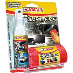 Kit Luxcar Limpa tela 100ml - Total Latas - A loja online do seu automóvel
