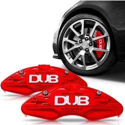 Capa Pinça de Freio 14/26 Vermelho Par DUB - Total Latas - A loja online do seu automóvel
