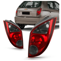Lanterna Traseira Celta 2006 a 2016 Fumê - Total Latas - A loja online do seu automóvel