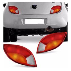 Lanterna Traseira Ka 1997 a 2001 Tricolor - Total Latas - A loja online do seu automóvel