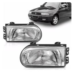 Farol Gol/Parati/Saveiro 1995 a 1999 Cromado model... - Total Latas - A loja online do seu automóvel