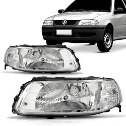 Farol Gol/Parati/Saveiro G3 Foco Simples C/ Deflet... - Total Latas - A loja online do seu automóvel