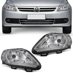 Farol Gol/Voyage/Saveiro G5 Simples Mascara Cromad... - Total Latas - A loja online do seu automóvel