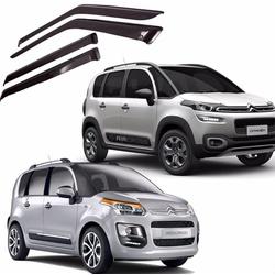 Calha de Chuva Air-Cross e C3 Picasso Fumê Jg - Total Latas - A loja online do seu automóvel