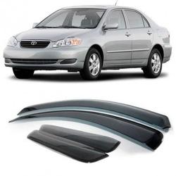 Calha de Chuva Corolla 2003 a 2008 Fumê Jg - Total Latas - A loja online do seu automóvel
