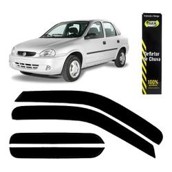 Calha de Chuva Corsa Hatch/Sedan/Wagon 1996 a 2002... - Total Latas - A loja online do seu automóvel