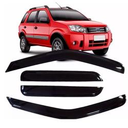 Calha de Chuva Ecosport 2003 a 2012 Fumê Jg - Total Latas - A loja online do seu automóvel