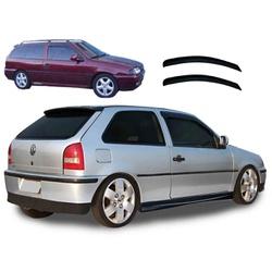 Calha de Chuva Gol/Parati G2/G3/G4 1995 a 2012 2 P... - Total Latas - A loja online do seu automóvel