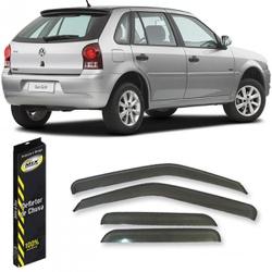 Calha de Chuva Gol/Parati G2/G3/G4 1995 a 2012 4 P... - Total Latas - A loja online do seu automóvel