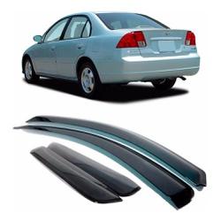 Calha de Chuva Civic 2001 a 2006 Fumê Jg - Total Latas - A loja online do seu automóvel