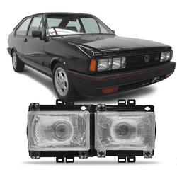 Farol Passat 1983 a 1988 Duplo - Total Latas - A loja online do seu automóvel