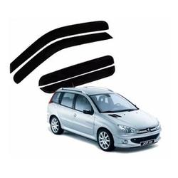 Calha de Chuva Peugeot 206/207 Sw 2005 a 2013 Fumê... - Total Latas - A loja online do seu automóvel