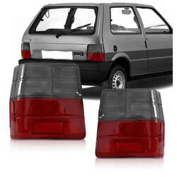Lanterna Traseira Uno 1984 a 2003 Fumê - Total Latas - A loja online do seu automóvel