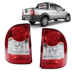 Lanterna Traseira Strada 2008 a 2013 Canto Bicolor - Total Latas - A loja online do seu automóvel