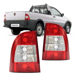 Lanterna Traseira Strada 2005 a 2007 Bicolor - Total Latas - A loja online do seu automóvel