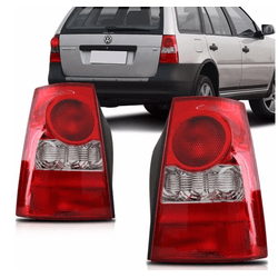 Lanterna Traseira Parati G4 2006 a 2008 Bicolor - Total Latas - A loja online do seu automóvel