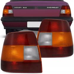 Lanterna Traseira Monza 1991 a 1996 Tricolor - Total Latas - A loja online do seu automóvel