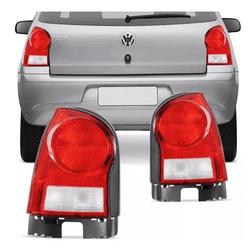 Lanterna Traseira Gol G4 2006 a 2011 Base Preta - Total Latas - A loja online do seu automóvel