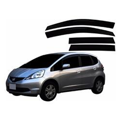 Calha de Chuva New Fit 2009 a 2014 Fumê Jg - Total Latas - A loja online do seu automóvel