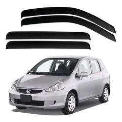 Calha de Chuva Fit 2003 a 2008 Fumê Jg - Total Latas - A loja online do seu automóvel