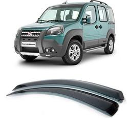 Calha de Chuva Doblo 2002 a 2016 Fumê Jg - Total Latas - A loja online do seu automóvel