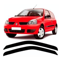 Calha de Chuva Clio 1999 a 2012 2 Portas Fumê Jg - Total Latas - A loja online do seu automóvel