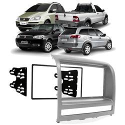 Moldura DVD 2 Din Palio/ Weekend/ Siena/ Strada/ I... - Total Latas - A loja online do seu automóvel