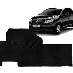 Jogo de Tapetes Renault Logan 2015 em Diante 4 Peç... - Total Latas - A loja online do seu automóvel