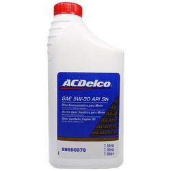 Óleo de Motor AcDelco 5W 30 API SN Semissintético ... - Total Latas - A loja online do seu automóvel