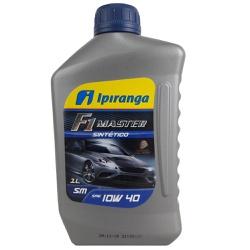 Óleo de Motor Ipiranga F1 Master 10W 40 API SM Sin... - Total Latas - A loja online do seu automóvel