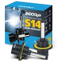 Kit Led Headlight H13 6000K S14 Nano 12V 32 Watts ... - Total Latas - A loja online do seu automóvel