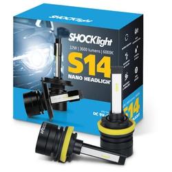 Kit Led Headlight H11 e H8 6000K S14 Nano 12V 32 W... - Total Latas - A loja online do seu automóvel