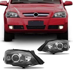Farol Astra 2003 a 2011 Máscara Preta - Total Latas - A loja online do seu automóvel