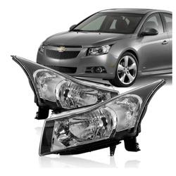 Farol Cruze 2011 a 2016 Máscara Preta - Total Latas - A loja online do seu automóvel