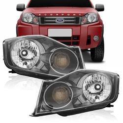Farol Ecosport 2008 a 2012 Cromomix - Total Latas - A loja online do seu automóvel