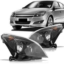 Farol Vectra 2009 a 2012 Máscara Preta - Total Latas - A loja online do seu automóvel